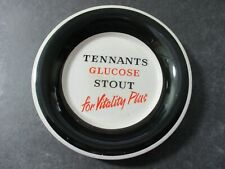 VINTAGE TENNANTS GLUCOSE STOUT - ADVERTISING ASHTRAY - WADE REGICOR a.