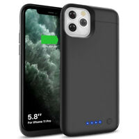 5500mAh Slim Battery Charger Charging Case Power Bank For iPhone 11 PRO