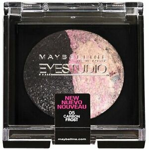 MAYBELLINE EYE STUDIO EYE SHADOW DUO - 05 CARBON FROST -SEALED