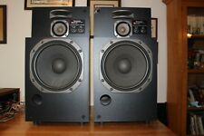 "Vintage Technics SB-L300 Linear Stereo Speakers RARE!! 12"" Woofer Sound Great"