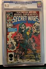 Secret Wars #10 CGC 9.2