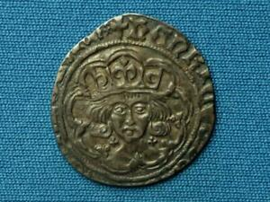 Henry VII Groat - Facing bust issue - Class 1b - mm cross fitchee - Scarce