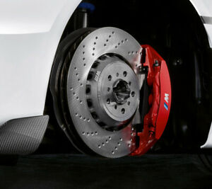 BMW M Performance F87 M2 Competition Front Red Brake Caliper PAIR 34118745793 /4