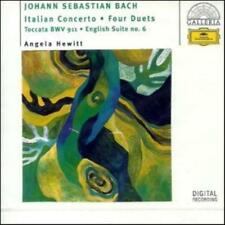 Angela Hewitt : Bach: English Suite No. 6 - 4 Duets - It CD