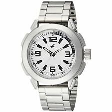 Fastrack Men's 3130SM01 Casual Silver Metal Strap Watch