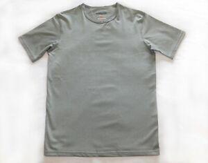 Canterbury Coolers Short Sleeve Crew Neck T-Shirt in Grey Medium