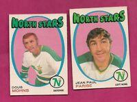 1971-72 OPC NORTH STARS JP PARISE + DOUG MOHNS  CARD (INV# A847)