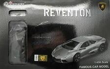 Pro-Team 1:43 Lamborghini Reventon Silber Selbstmontage Modellauto Modellbausatz