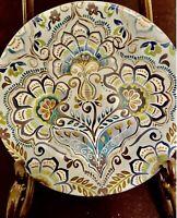 222 Fifth Aisha PTS International one lot of  4  porcelains appetizer plates
