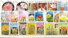 Cactus De Colección de sellos de 50 todos los diferentes de papel