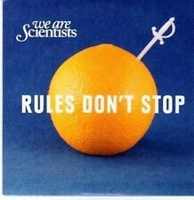 (CE876) We Are Scientists, Rules Don't Stop - 2010 DJ CD