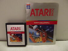 Atari 2600 Game Cartridge Volleyball W/Manual