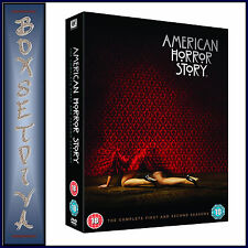AMERICAN HORROR STORY - COMPLETE SERIES SEASONS 1 & 2 **BRAND NEW DVD **