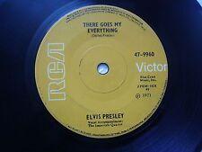 "ELVIS PRESLEY 47 9960  YELLOW RARE SINGLE 7"" 45 RPM INDIA INDIAN VG"