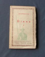 Libro Antiguo DIANA - MONTEMAYOR