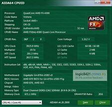 AMD FX-4300 FD4300WMW4MHK 3.8GHz AM3+ Quad-Core Processor