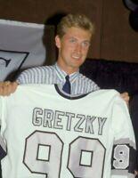 Wayne Gretzky Los Angeles Kings Unsigned 8x10 Photo W9