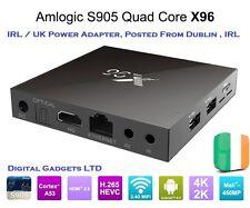 X96 Android 6.0 Smart TV Box Amlogic S905X Quad Core Cortex A53 2GB/16GB 4K