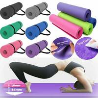 Yoga Mat Gym Fitness Exercise Eco Friendly Foam Non Slip Pilates Physio Mats