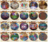 Street Brick Wall Graffiti Style Round Area Rugs Family Non-Slip Decor Carpets
