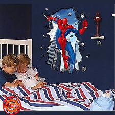 VINILO ADHESIVO POSTER STICKER DE PARED DE SPIDERMAN SPIDER MAN GRANDE 100x70cm
