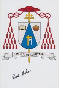 Original signiertes Foto Sergio Cardinal Da Rocha - Kardinal Brasilia