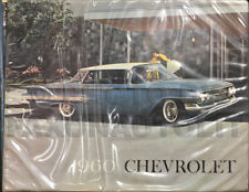 1960 Chevy Car Color and Upholstery Dealer Album Chevrolet Showroom Book