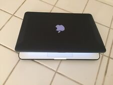 CUSTOM BLACK  Apple MacBook A1342●4GB RAM● 250 GB HD●Intel C2D~2..4Ghz
