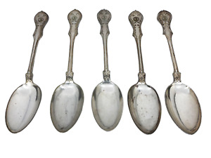 Manner Makyth Maketh Man Silver Plated Spoons? Set Of 5