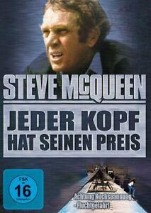 Jeder Kopf hat seinen Preis [DVD/NEU/OVP] Steve McQueen in seiner letzten Rolle