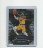 2019/20 Panini Select Concourse Lebron James Base Card #47 MVP LBJ LAKERS