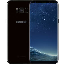 "Samsung Galaxy S8+ Plus SM-G955U 64 Go Noir Désimlocké GSM 4G Smartphone 6,2"""