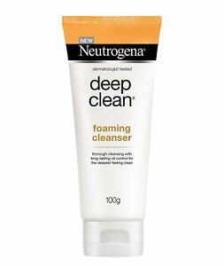 Neutrogena Deep Clean Foaming Cleanser, 100 gm All Skin Type, - Free Shipping