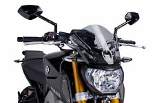 PUIG SAUTE VENT NAKED N.G. YAMAHA MT-09 ANNO 2014 COLORE FUME CLAIR VERSIONE SPO