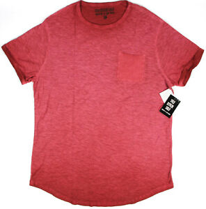 THE OTHER SIDE New York garment dyed slub pocket T-shirt- L- NEW- hipster UO tee