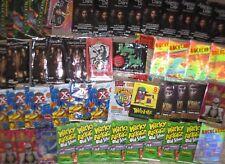 WRAPPERS 200 Lot X-Men Wacky Vampire Batman KONG Bettie Page Weird-Ohs NO CARDS