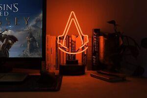 Assassin's Creed Logo Neon Light BRAND NEW