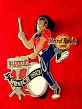 HRC Hard Rock Cafe Munich Rockabilly Drummer Band Series 2013 No4 LE250