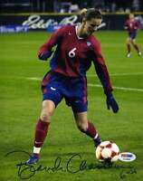 BRANDI CHASTAIN USA SIGNED 8X10 PHOTO PSA/DNA COA AUTHENTIC AUTOGRAPH