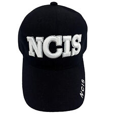 NCIS Embroidered Black Cap