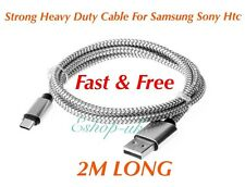 2M Samsung Galaxy S6 S7 Edge S3 S4 S5 Fast Charge Charging Lead Usb Cable