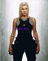 KATEE SACKOF - HAND SIGNED PHOTO WITH COA - BATTLESTAR GALACTICA AUTOGRAPHED PIC