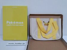 Pokemon LUNCH TOTE BAG Pikachu from Japan