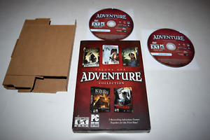 Adventure Collection Volume One 2008 PC DVD-ROM Video Game Complete in Box
