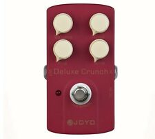 JOYO JF-39 Deluxe Crunch Electric Guitarra Violao Guitar Effect Distortion Pedal