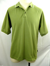 Adidas ClimaLite Men's Medium Golf Polo Green Care for the Bear Embroydered