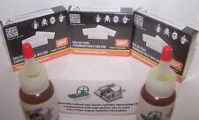 Esbit 3 Pack, & 2 bottles of Oil for Jensen Mamod Wilesco Live Steam Engine