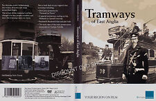 Tramways of East Anglia. Your Region on film. New DVD.