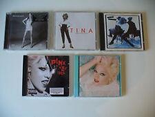 "Albumkonv. ""Girl Power"", 5 album di rosa, Madonna, Mariah A.M. CD (Kon. n. 735)"