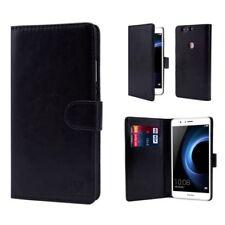 Fundas y carcasas Para Huawei P9 color principal negro de piel sintética para teléfonos móviles y PDAs